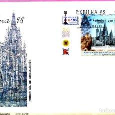 Sellos: SOBRE PRIMER DIA AÑO 1998 EDIFIL Nº 3557 EXPOSICION FILATELICA NACIONAL EXFILNA 98. Lote 199245218