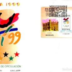 Sellos: SOBRE PRIMER DIA AÑO 1999 EDIFIL Nº 3648 FILATEM UNIVERSIADA PALMA 1999. Lote 199245271