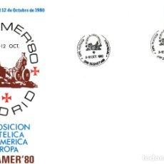 Sellos: ESPAMER 80 EXPOSICION FILATELICA PROVINCIAL, SAN SEBASTIAN 1980. . Lote 200278325