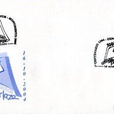 Sellos: MATASELLOS 1º CENTENARIO MONUMENTO TXARLAZO. ORDUÑA, VIZCAYA, PAIS VASCO, 2004. Lote 200568033