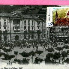 Sellos: MAT CENTENARIO DEL AYUNTAMIENTO DE EIBAR 2001 GUIPUZCOA REPUBLICA ARQUITECTURA. Lote 200604720