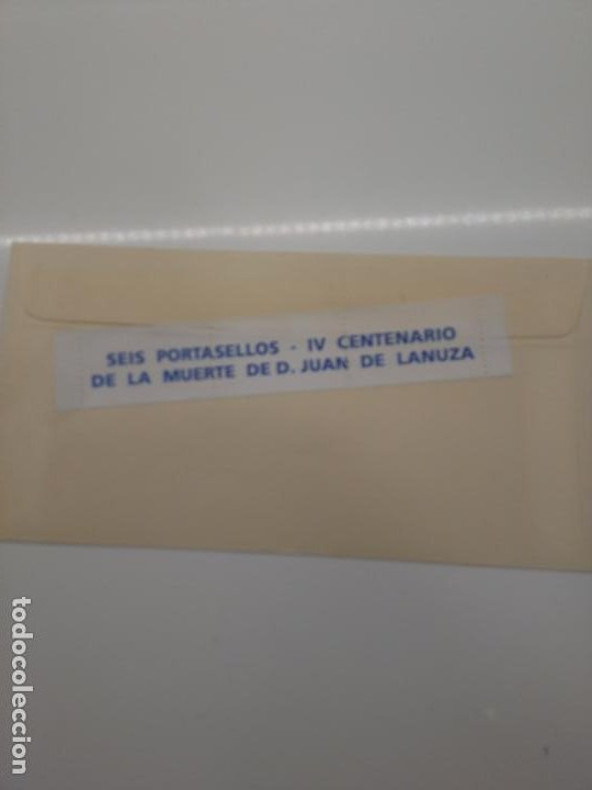 Sellos: 20 dic 1991 zaragoza Iv centenario juan de lanuza portasellos edifil 3004 y el justicia de aragon - Foto 2 - 201667242
