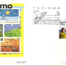 Timbres: ESPAÑA 2011. SPD O SELLOS MATADO. TURISMO. EDIFIL Nº 4621. Lote 201821412