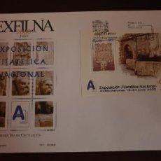 Sellos: ESPAÑA SOBRE PRIMER DIA EDIFIL SH 3716 AÑO 2000 EXFILNA´2000. Lote 202043128