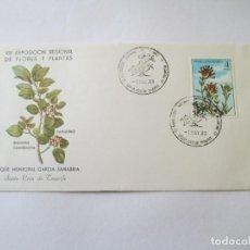 Sellos: SOBRE * VIII EXPOSICION REGIONAL DE FLORES Y PLANTAS * TENERIFE 1983. Lote 202412951