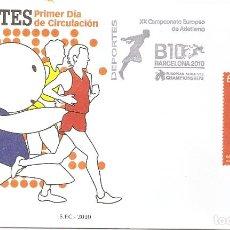 Timbres: ESPAÑA 2010. SPD O SELLO MATADO. XX CAMPEONATO DE EUROPA DE ATLETISMO. EDIFIL Nº 4570. Lote 202683447