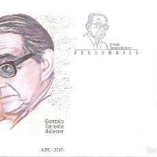 Timbres: ESPAÑA 2010. SPD O SELLO MATADO. GONZALO TORRENTE BALLESTER. EDIFIL Nº 4599. Lote 202692328