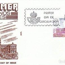 Sellos: EDIFIL 2632, ESPAMER, PALACIO DE CONGRESO DE BUENOS AIRES (ARGENTINA) PRIMER DIA 13-11-1981 SFC. Lote 204705797