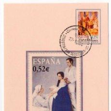 Sellos: POSTAL DE FILATELIA, DE NAVIDAD, CON SELLOS Y RESELLOS ESPECIALES. Lote 205102620