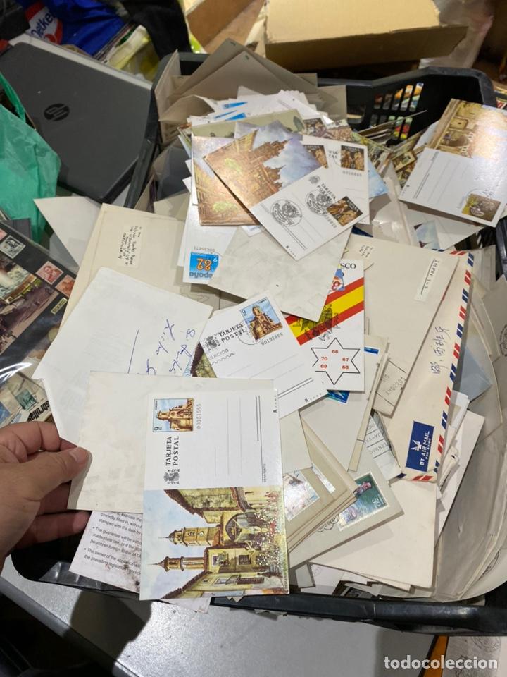 Sellos: Gran lote de sobres del primer dia antiguos y sellos - caja plástico grande llena - ver las imágenes - Foto 12 - 205269146