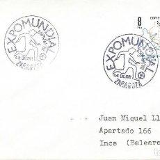 Sellos: 1981. ZARAGOZA. MATASELLOS/POSTMARK. EXPOMUNDIAL ESPAÑA'82. FÚTBOL/FOOTBALL. DEPORTES/SPORTS.. Lote 205290897