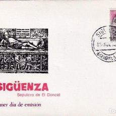 Sellos: EL DONCEL SERIE TURISTICA 1968 (EDIFIL 1878) EN SPD DE MF MATASELLOS SIGÜENZA (GUADALAJARA) RARO MPM. Lote 205782790
