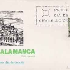 Sellos: VISTA GENERAL DE SALAMANCA SERIE TURISTICA 1968 (EDIFIL 1876) EN SPD DE MUNDO FILATELICO. MPM.. Lote 205786226
