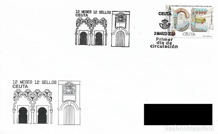 ESPAÑA. SOBRE PRIMER DIA. CEUTA. 2020 (Sellos - Historia Postal - Sello Español - Sobres Primer Día y Matasellos Especiales)