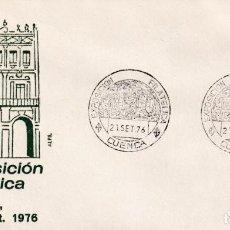 Sellos: IX EXPOSICION FILATELICA, CUENCA 21 SEPTIEMBRE 1976. RARO MATASELLOS EN SOBRE DE ALFIL.. Lote 206573052