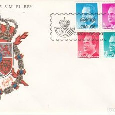 Sellos: SOBRE: 1985 MADRID. SERIE BASICA DE S.M. EL REY. Lote 206821522