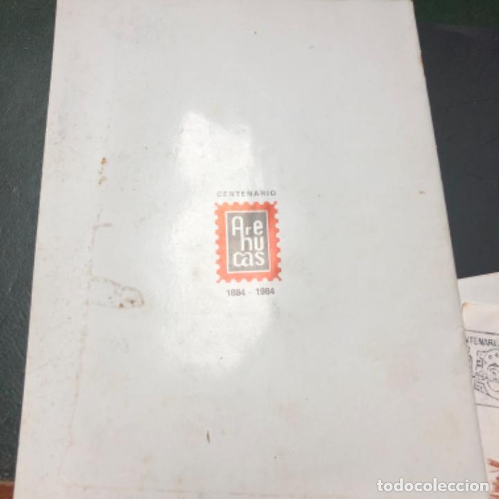 Sellos: 1984 2 sobres con matasellos Industria caña de azúcar Destilerías Arehucas de Gran Canaria y libro - Foto 2 - 206822366