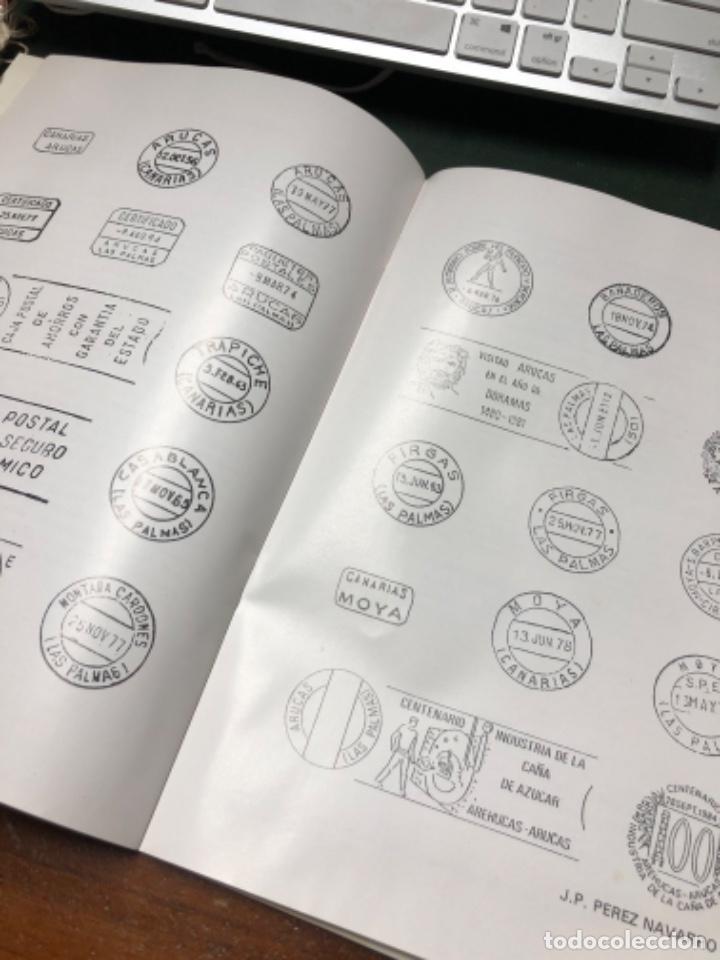 Sellos: 1984 2 sobres con matasellos Industria caña de azúcar Destilerías Arehucas de Gran Canaria y libro - Foto 5 - 206822366