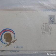 Sellos: URUGUAY FILATELIA SOBRE PRIMER DIA EMISION 24 OCTUBRE 1973 ARTIGAS. Lote 206836335