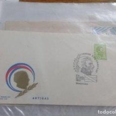 Sellos: URUGUAY FILATELIA SOBRE DEL PRIMER DIA 11 JULIO 1973 ARTIGAS. Lote 206838410
