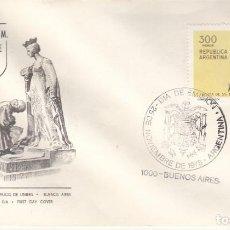 Sellos: SOBRE: 1978 ARGENTINA. VISITA DE LOS REYES DE ESPAÑA. Lote 206999247
