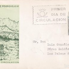 Sellos: MOGROVEJO SANTANDER CANTABRIA SERIE TURISTICA 1965 (EDIFIL 1650) SPD CIRCULADO DEL SFC MUY RARO. MPM. Lote 207030838