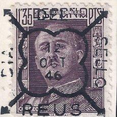 Sellos: REUS. EDIFIL 1001. MATASELLOS GOMIS Nº 136. ESPECIAL DÍA DEL SELLO 12-0CTUBRE-1946. LUJO.. Lote 208036005