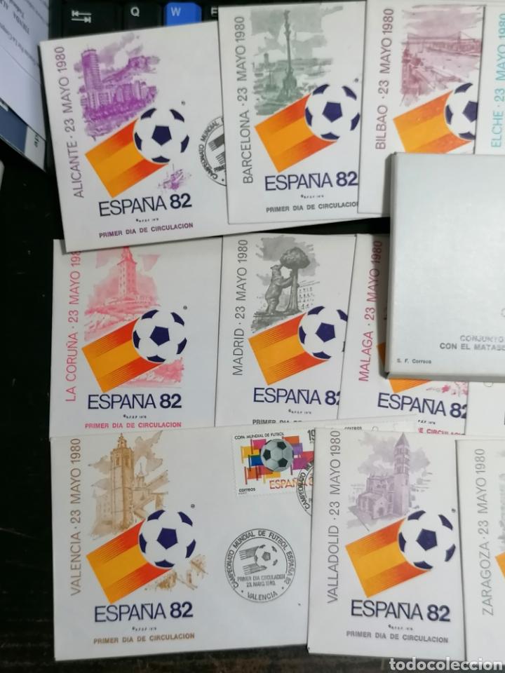 Sellos: España Mundial Fútbol 82 14 ciudades y sedes - Foto 2 - 208106263