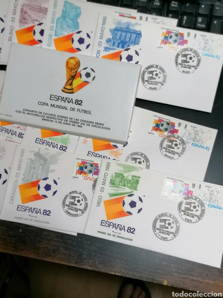 Sellos: España Mundial Fútbol 82 14 ciudades y sedes - Foto 3 - 208106263
