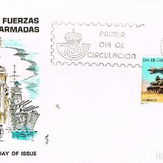 Sellos: EDIFIL 2525, DIA DE LAS FUERZAS ARMADAS, PRIMER DIA 25-5-1979 ALFIL, DISPONIBLE BARCELONA Y MADRID. Lote 210112508