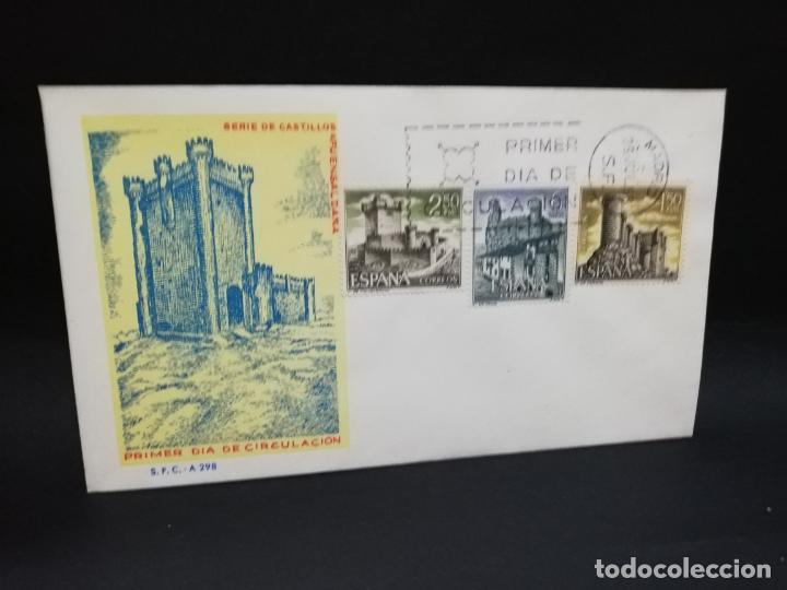 SOBRE PRIMER DIA. SERIE DECASTILLOS. FUENSALDAÑA. MADRID. 1968. (Sellos - Historia Postal - Sello Español - Sobres Primer Día y Matasellos Especiales)