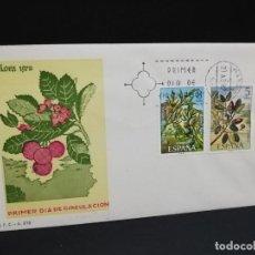 Sellos: SOBRE PRIMER DIA. FLORA. MADRID. 1972.. Lote 210191201
