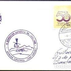 Selos: POLAR 1988 IV EXPEDICION ANTARTICA C.S.I.C.. Lote 210561768