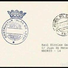 Sellos: ARMADA 1980 DESTRUCTOR BLAS DE LEZO. Lote 210569380