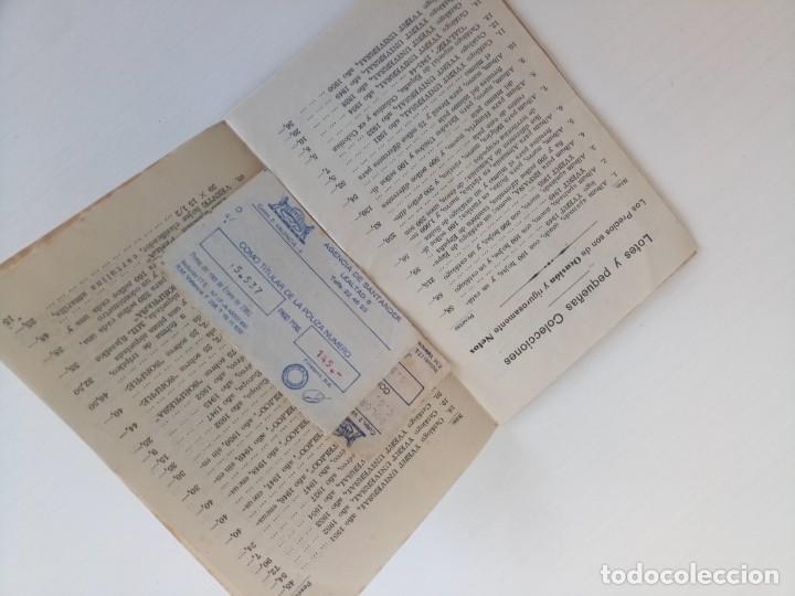 Sellos: Antiguo libreto filatelia el estudiante sellos Madrid - Foto 2 - 211951045