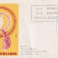 Sellos: AÑO INTERNACIONAL DE LOS DERECHOS HUMANOS 1968 (EDIFIL 1874) EN SPD CIRCULADO DE ALFIL RARO ASI. MPM. Lote 213228547