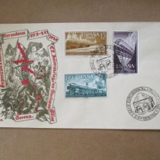 Sellos: EXPO FILATELICA 1958 GIRONA GERONA. Lote 213637845