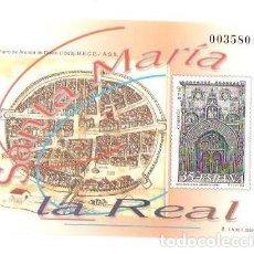 Sellos: 2000 (PRUEBA) SANTA MARÍA LA REAL - PLANO DE ARANDA DE DUERO (1503). Lote 213750975