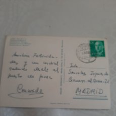 Sellos: MATASELLO JAVEA ADUANAS ALICANTE 1969. Lote 213895637