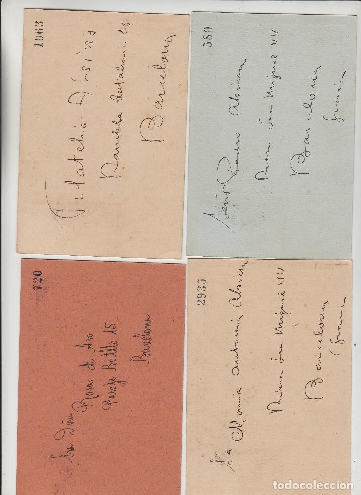Sellos: 1950 , BARCELONA , CENTENARIO EXPOSICION FILATÉLICA . FIESTAS DE GRACIA . TARJETAS CIRCULADAS - Foto 2 - 214378971