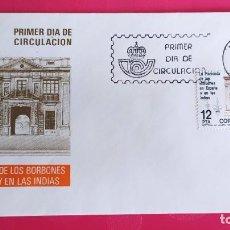 Sellos: HACIENDA DE LOS BORBONES 1981 SFC A.575 ESPAÑA SOBRE PRIMER DIA CIRCULACION. Lote 214836360