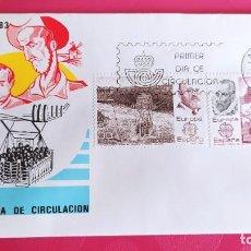 Sellos: EUROPA 1983 SFC A. 598 ESPAÑA SOBRE PRIMER DIA CIRCULACION. Lote 215022250