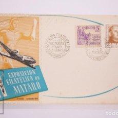Selos: MATASELLOS CONMEMORATIVOS:TEMATICA: MATARO, 2ª EXPOSICION FILATELICA 23-OCTUBRE-1949 EDICIÓN OFICIA. Lote 215901792
