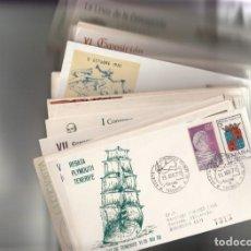 Sellos: LOTE DE 100 MATASELLOS CONMEMORATIVOS DISTINTOS DEL AÑO 1970 - LA MAYORIA DE ALFIL. Lote 217932465