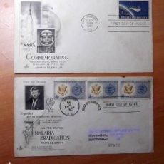 Sellos: SELLOS Y SOBRES PRIMER DIA AÑO 1962. Lote 218519226