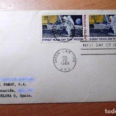 Sellos: SELLO Y SOBRE PRIMER DIA AÑO 1969. Lote 218520677