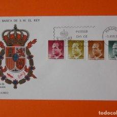 Sellos: SERIE BASICA DE S.M EL REY - 1986 - EDIFIL 2829/30/31/33 - SOBRE PRIMER DIA... L1884. Lote 218760915