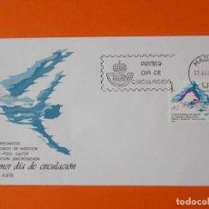 Sellos: V CAMPEONATOS DEL MUNDO DE NATACIÓN WATER-LO - 1986 - EDIFIL 2852 - SOBRE PRIMER DIA... L1886. Lote 218761308