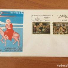 Sellos: ESPAÑA 1982 SOBRE PRIMER DÍA. NAVIDAD 82. Lote 218803460