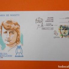 Sellos: MUJERES FAMOSAS ESPAÑOLAS - 1989 - EDIFIL 2989 - SOBRES PRIMER DIA ... L2002. Lote 219063451